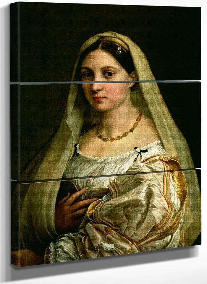 The Veiled Woman Or La Donna Velata By Raphael