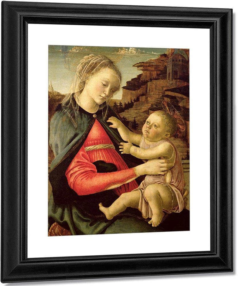 The Virgin And Child (Madonna Of The Guidi Da Faenza) By Sandro Botticelli