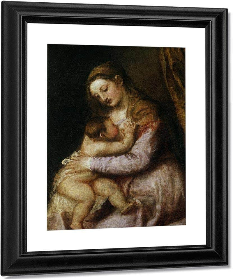 The Virgin And Child By Titian