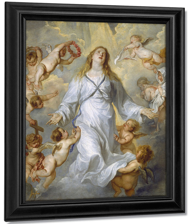 The Virgin As Intercessor By Anthony Van Dyck