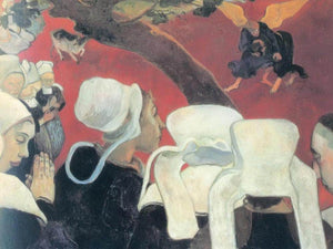The Vision After The Sermon (Jacob Fighting With The Angel By Paul Gauguin