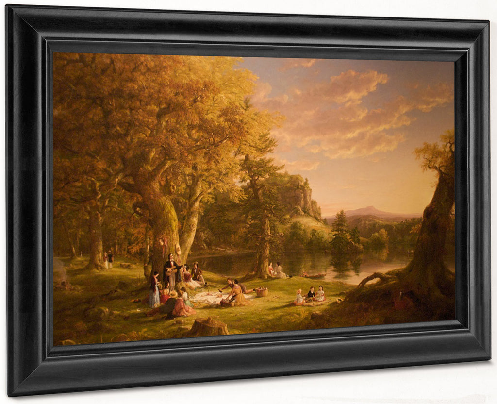 The Voyage Of Life Childhood 1840 1 By Thomas Cole By Thomas Cole