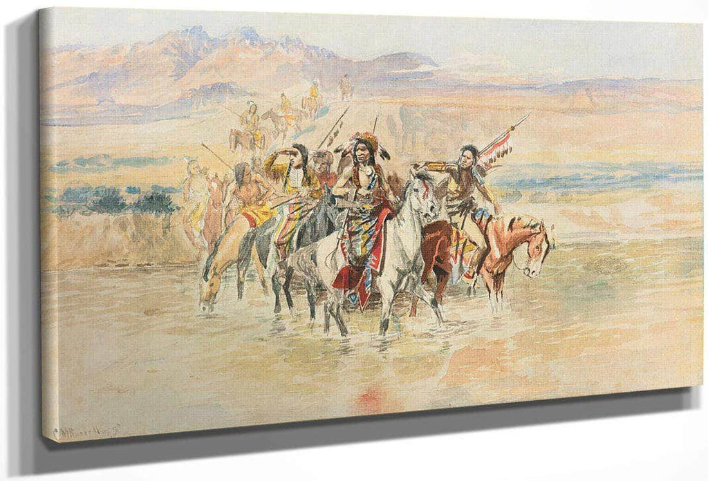 The War Party By Charles Marion Russell