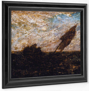 The Waste Of Waters Is Their Field By  Ryder, Albert Pinkham