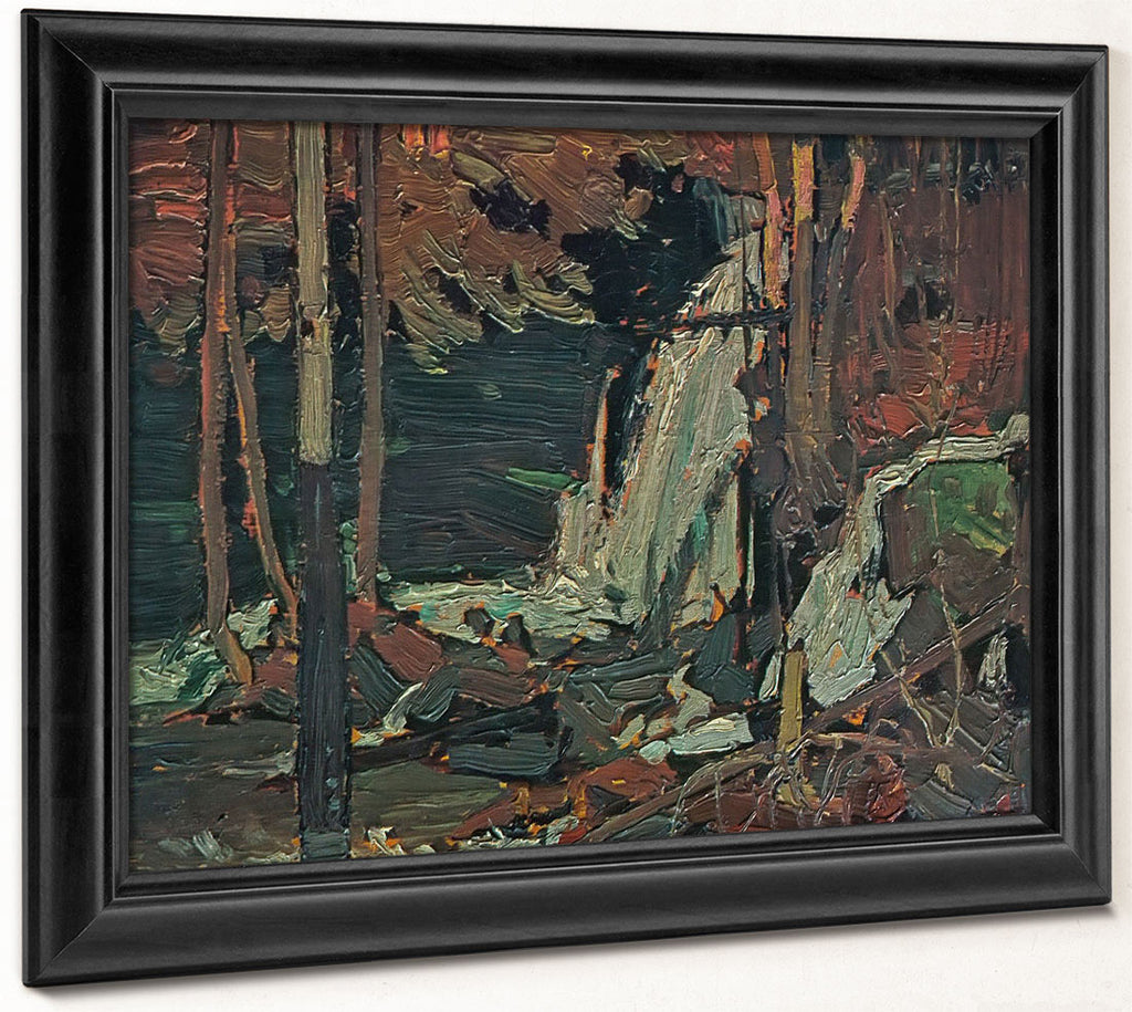 The Waterfall By Tom Thomson