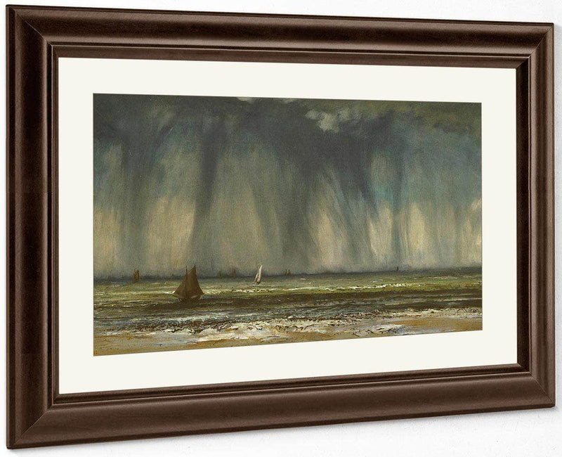 The Waterspout By Gusave Courbet
