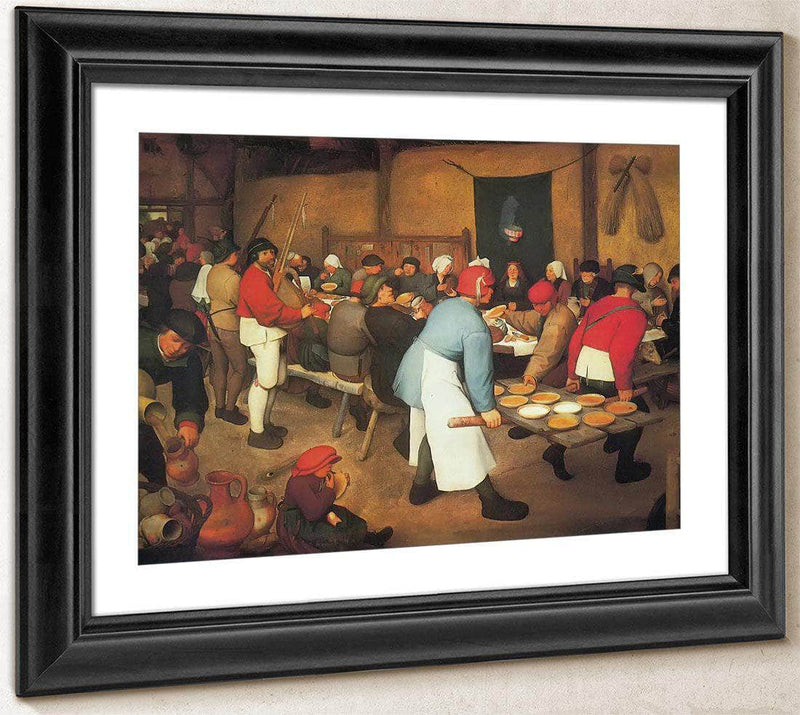 The Wedding At Cana 156263 By Pieter Bruegel