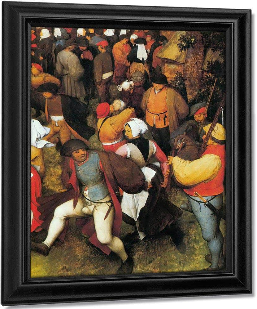 The Wedding Dance In The Open Air By Pieter Bruegel