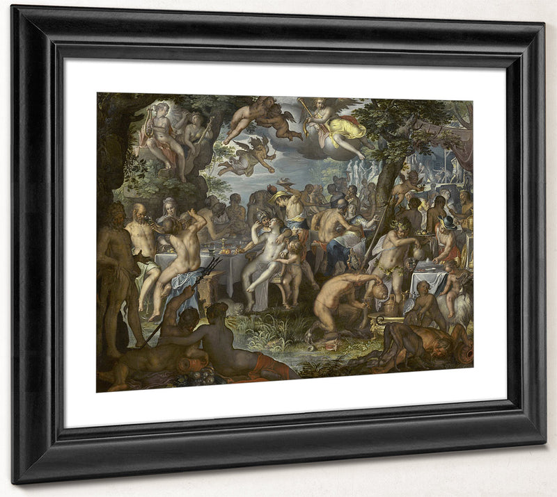 The Wedding Of Peleus And Thetis By Joachim Wtewael