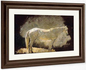 The White Mare By Winslow Homer