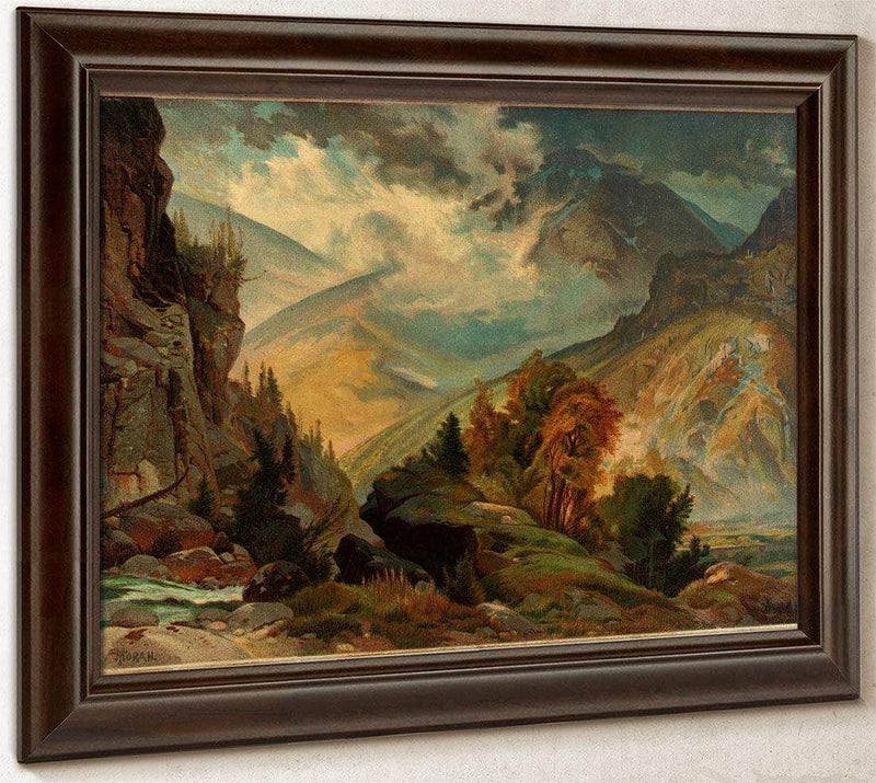 The White Mountains By Thomas Moran