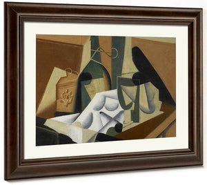 The White Tablecloth By Juan Gris