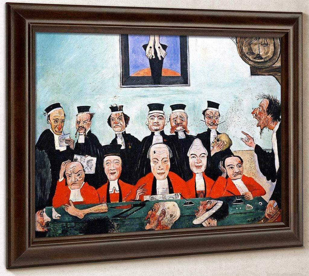 The Wise Judges By James Ensor
