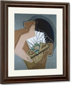 The Woman With The Basket By Juan Gris