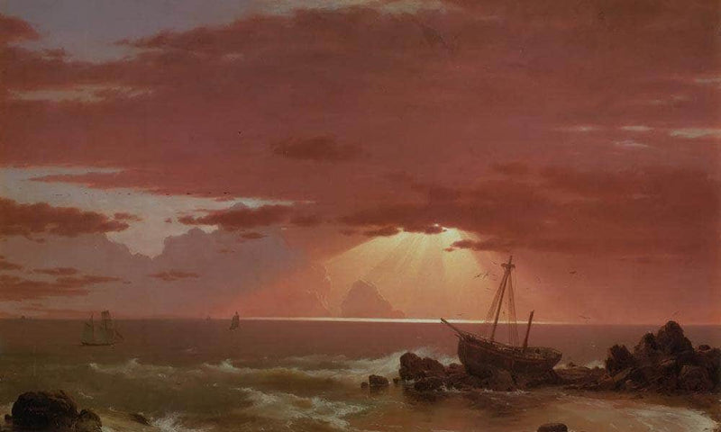 The Wreck By Fredric Edwin Church