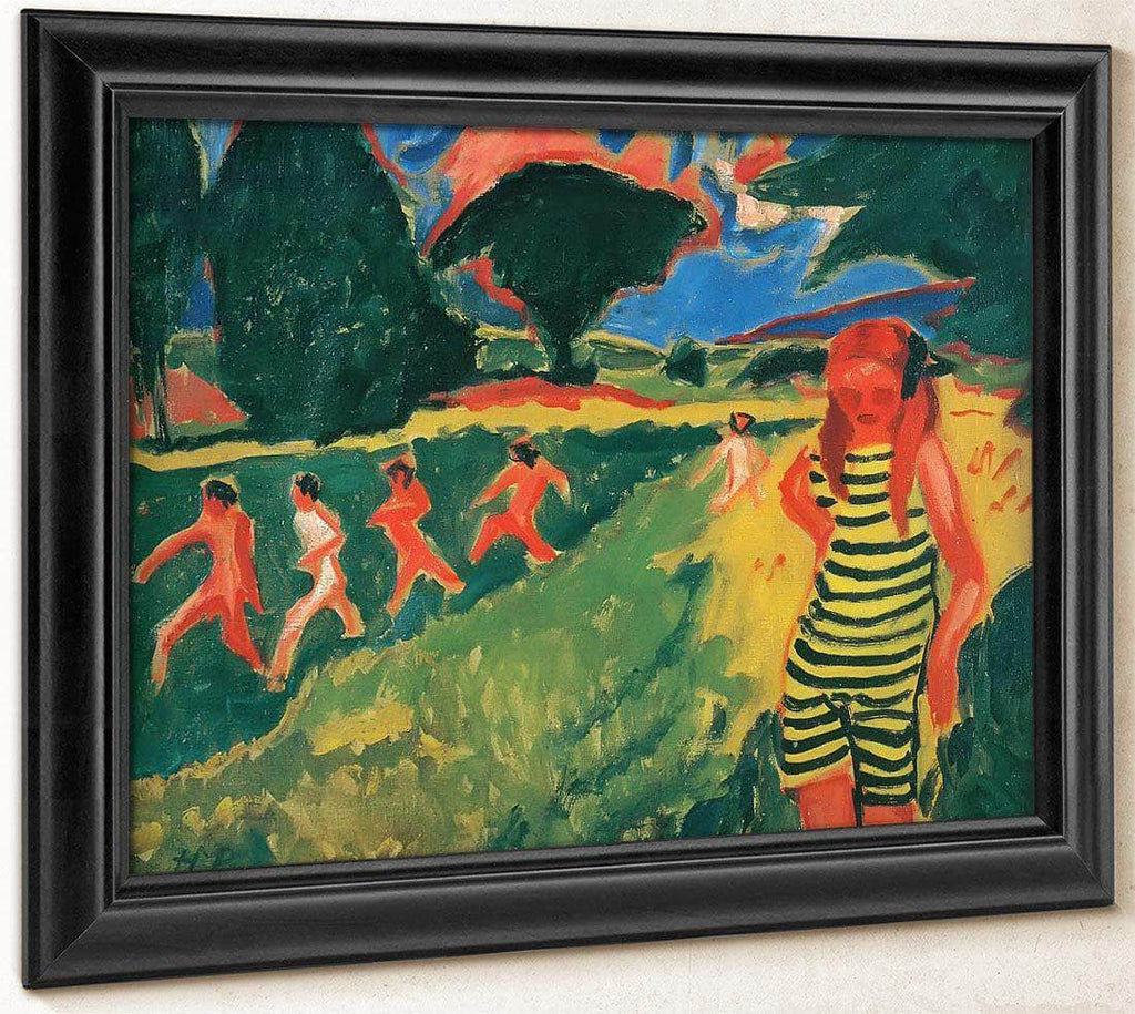 The Yellow And Black Swimsuit M9 Max Pechstein