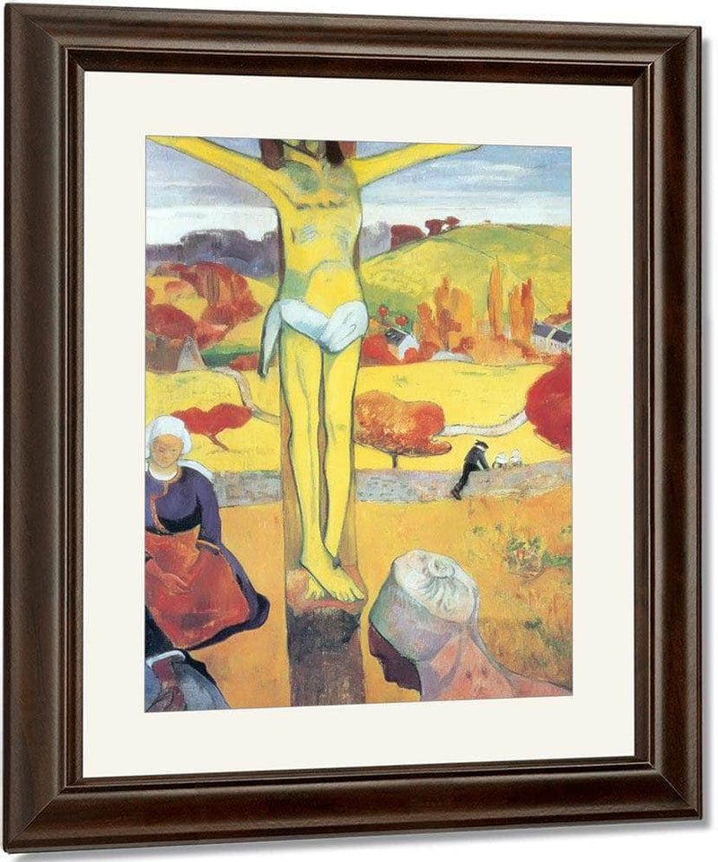 The Yellow Christ By Paul Gauguin