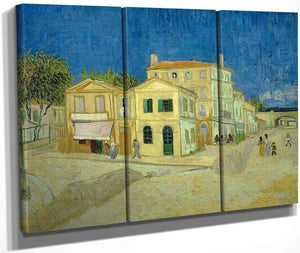 The Yellow House ('The Street') 2 By Vincent Van Gogh