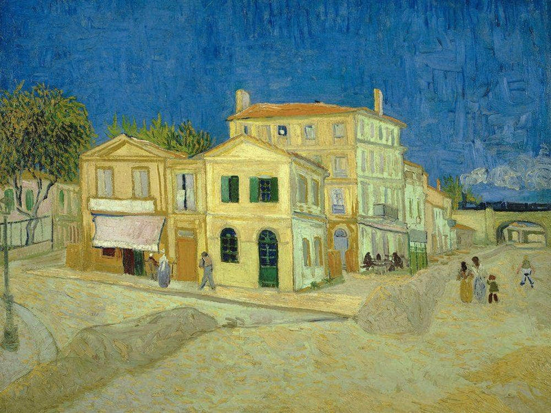The Yellow House ('The Street') By Vincent Van Gogh