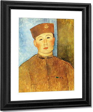 The Zouave 1918 By Amedeo Modigliani