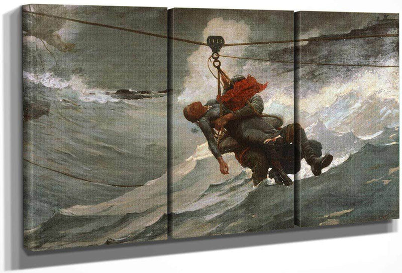 The By Life By Line By Winslow Homer
