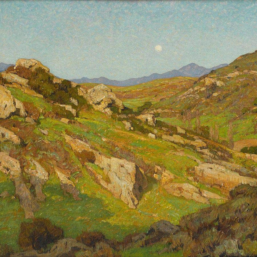 There Is No Solitude In Nature By William Wendt