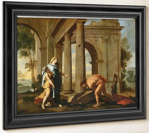 Theseus Finding His Fathers Sword By Nicholas Poussin