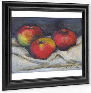 Three Apples By Walt Kuhn