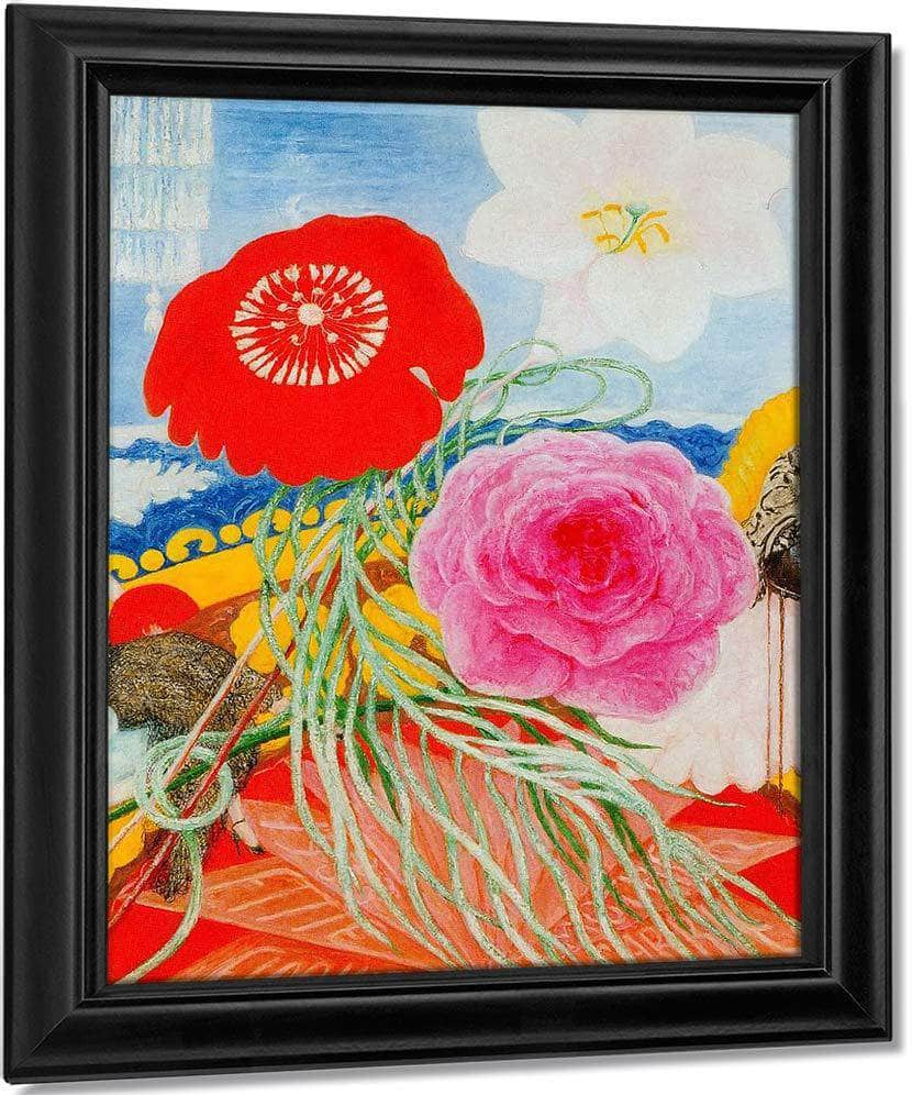 Three Flowers By Florine Stettheimer
