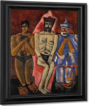Three Friends By Marsden Hartley