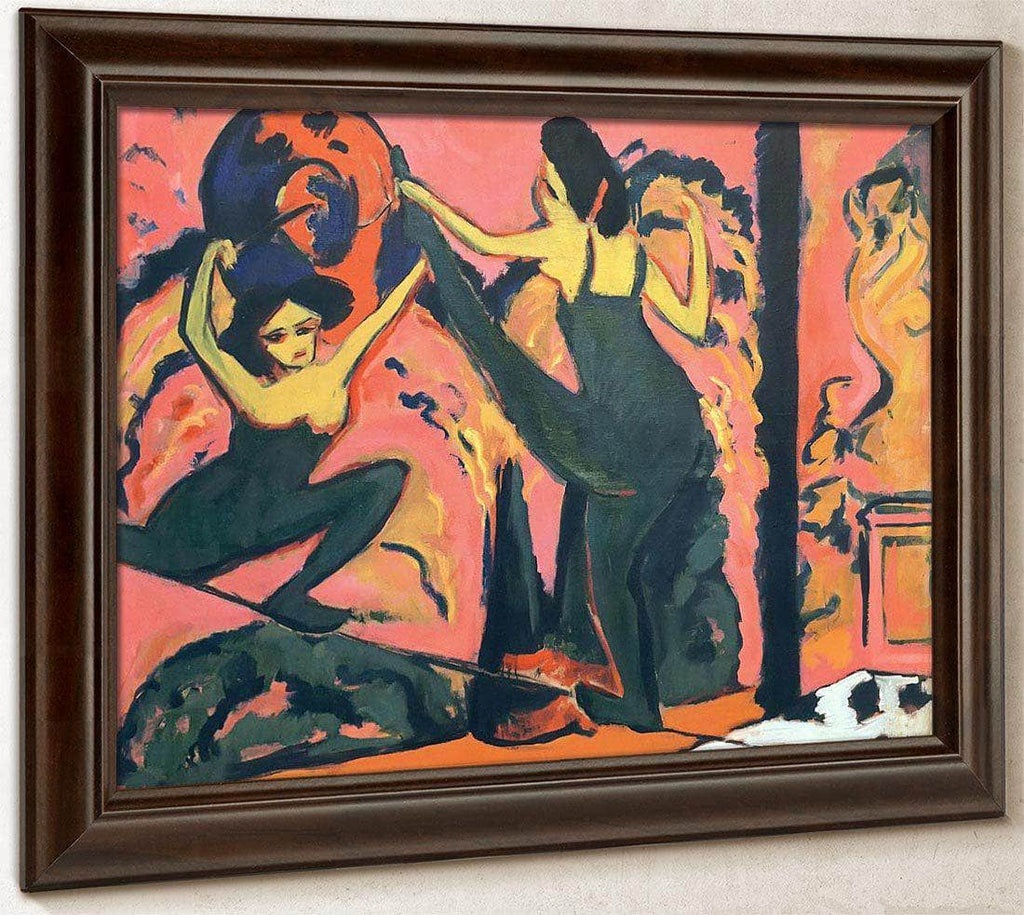 Tightrope Dance By Ernst Ludwig Kirchner