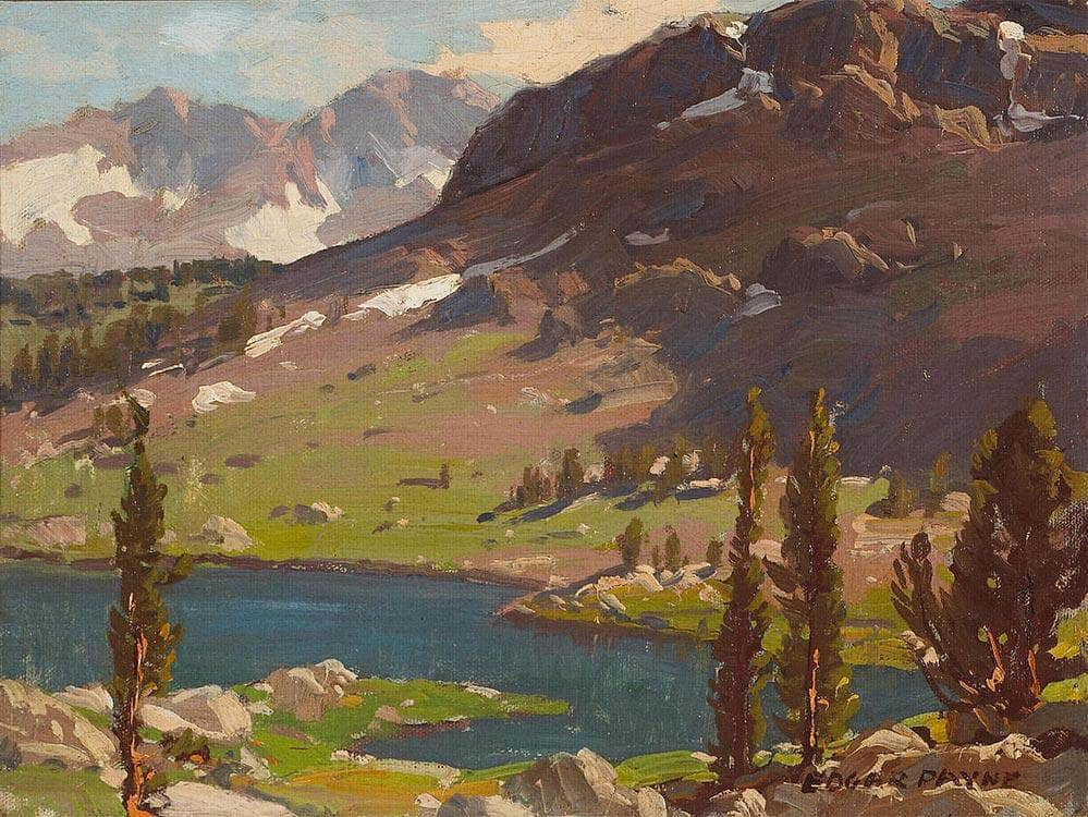 Tioga Pass By Edgar Payne