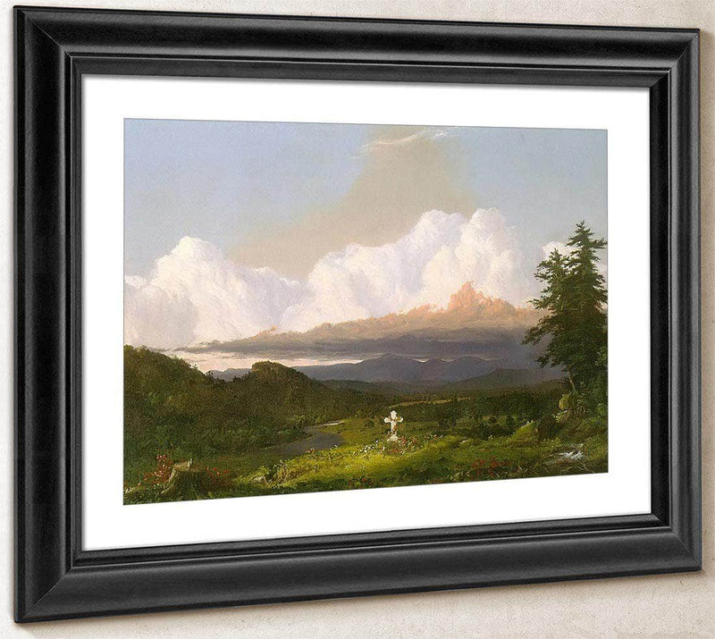 To The Memory Of Cole By Frederic Edwin Church