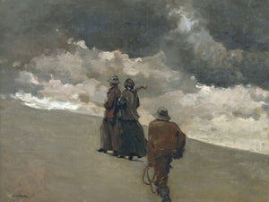 To The Rescue By Winslow Homer