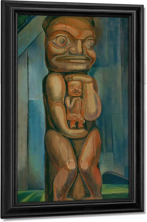Totem Mother By Kitwancool By Emily Carr