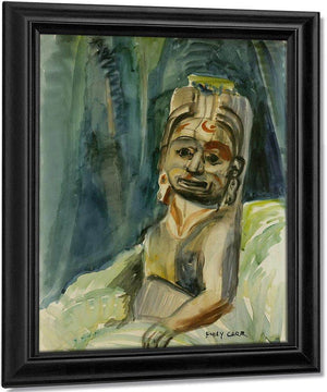 Totemic Figure By In By The By Forest By Emily Carr
