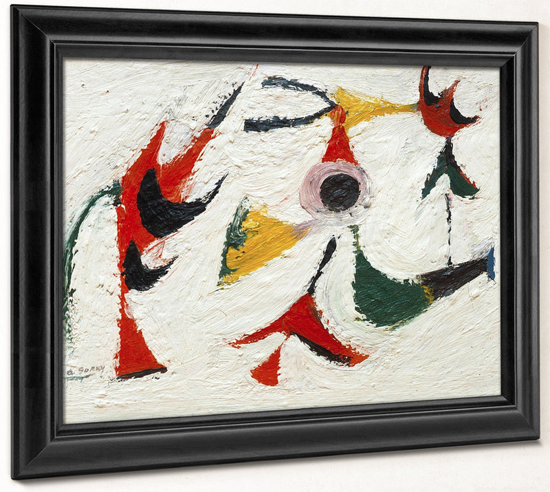 Tracking Down Guiltless Doves By Arshile Gorky