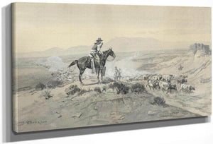 Trail Boss By Charles Marion Russell