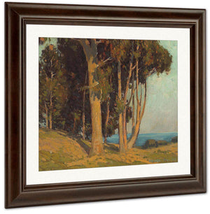 Trees Along The Coast By Edgar Payne
