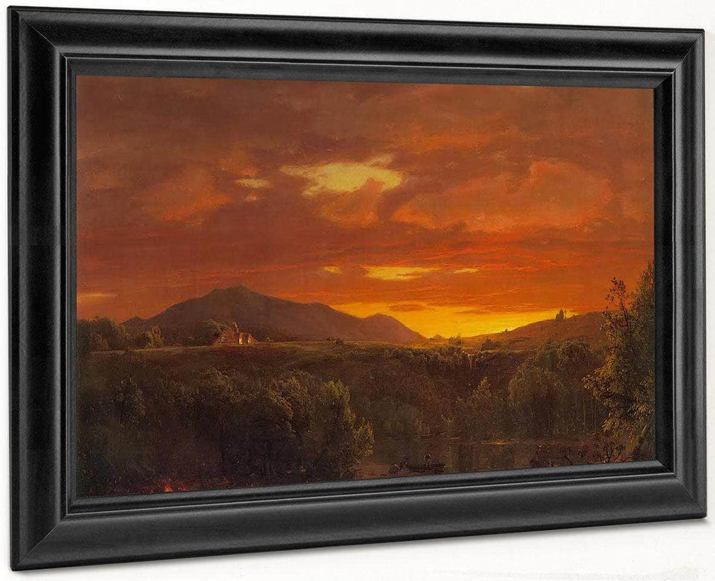 Twilight (Sunset) By Fredric Edwin Church