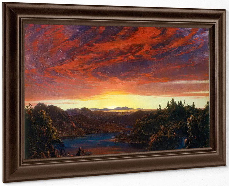 Twilight A Sketch By Frederic Edwin Church