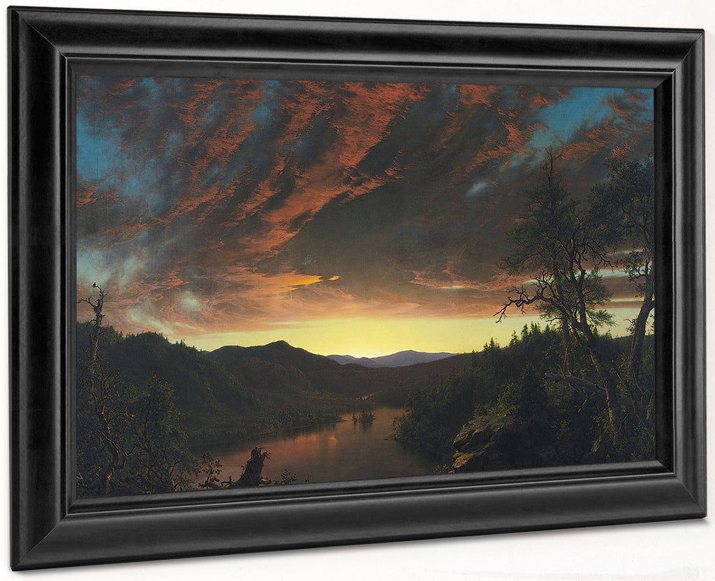 Twilight In The Wilderness 1860 By Frederic Edwin Church