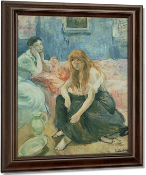 Two Girls 1894 By Berthe Morisot