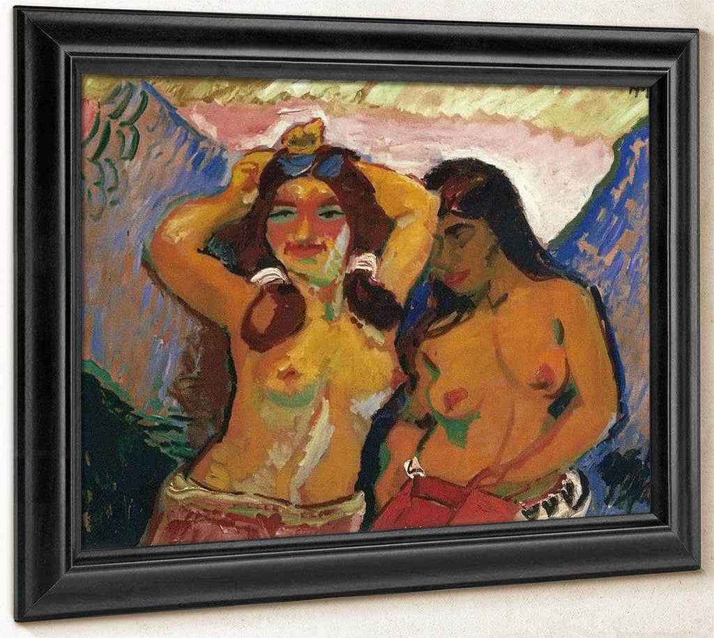 Two Girls M9 Max Pechstein