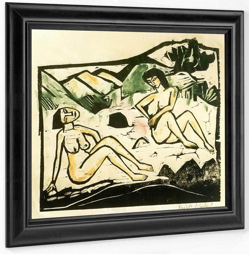 Two Seated Women M9 Erich Heckel
