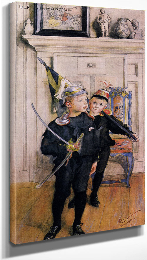 Ulf And Pontus By Carl Larsson