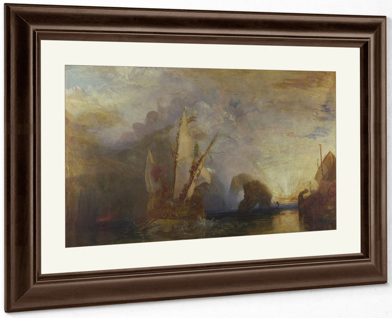 Ulysses Deriding Polyphemus   Homer's Odyssey By Joseph Mallord William Turner