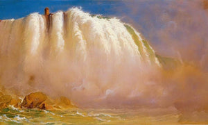 Under Niagra By Frederic Edwin Church