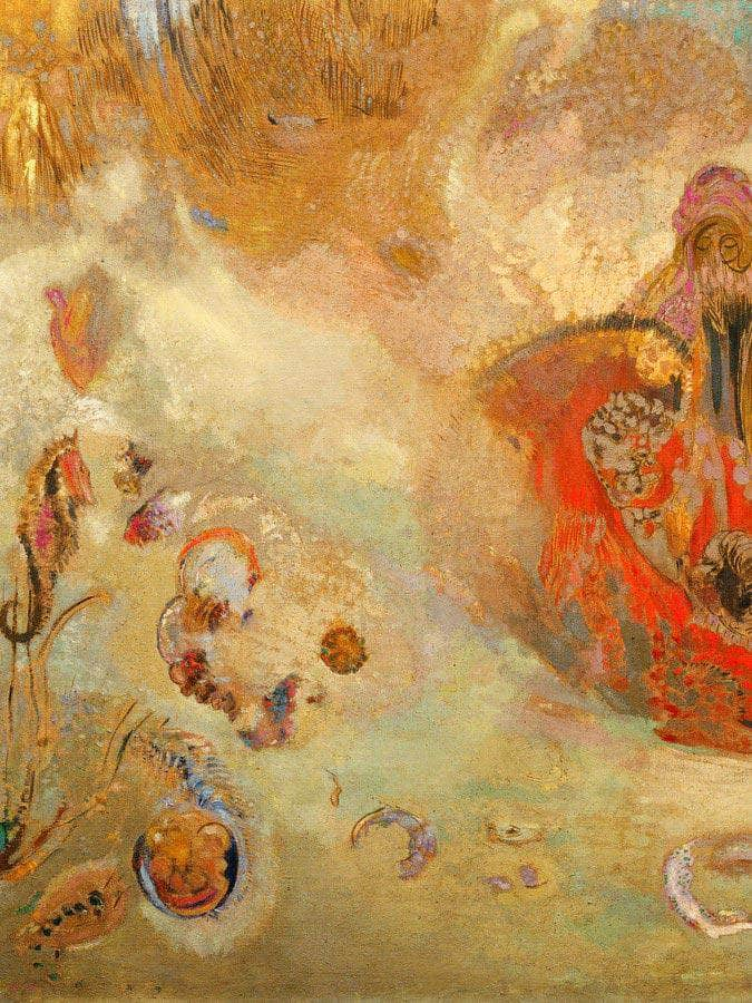 Underwater Vision By Odilon Redon