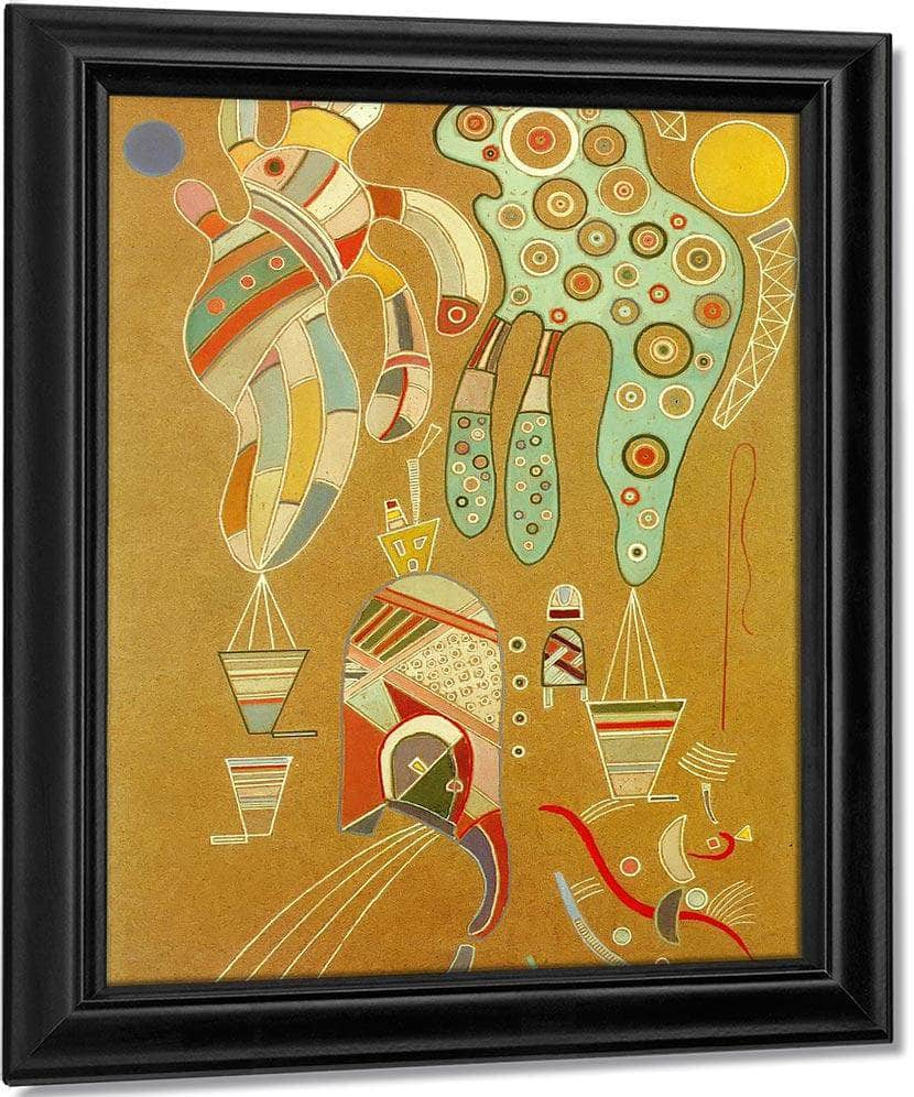 Untitle 1941 By Wassily Kandinsky